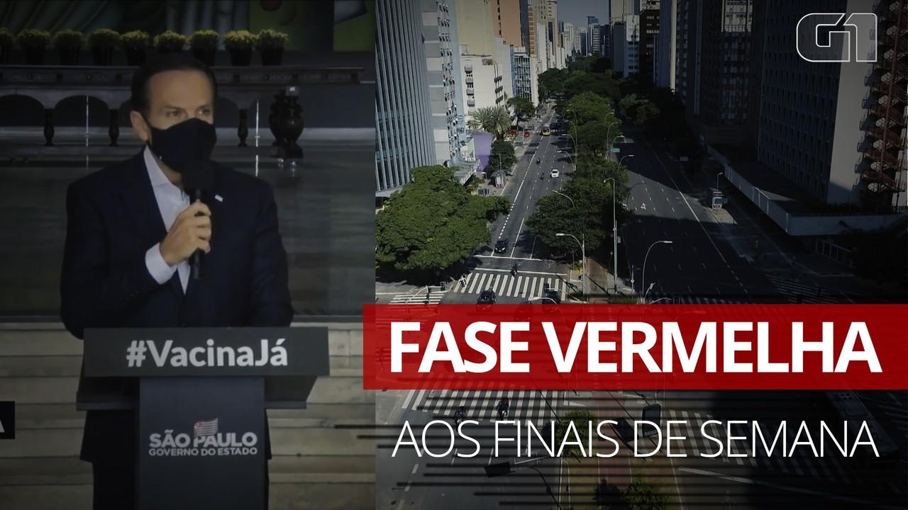 Fase vermelha: veja o que muda com a nova reclassificação do Plano São Paulo