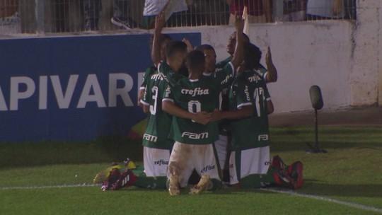 Os gols de Palmeiras 3 x 0 Vitória pela Copa SP de futebol júnior