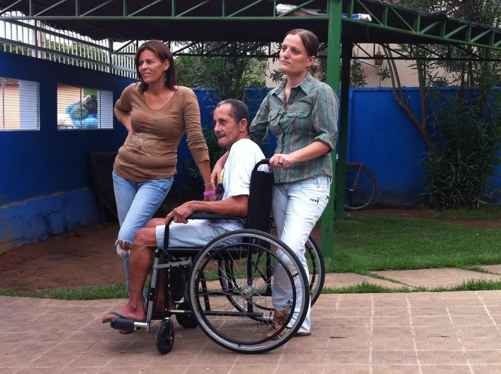 Em 2012, homem dado como morto foi levado para um asilo em Pescador (Foto: Diego Souza / G1)
