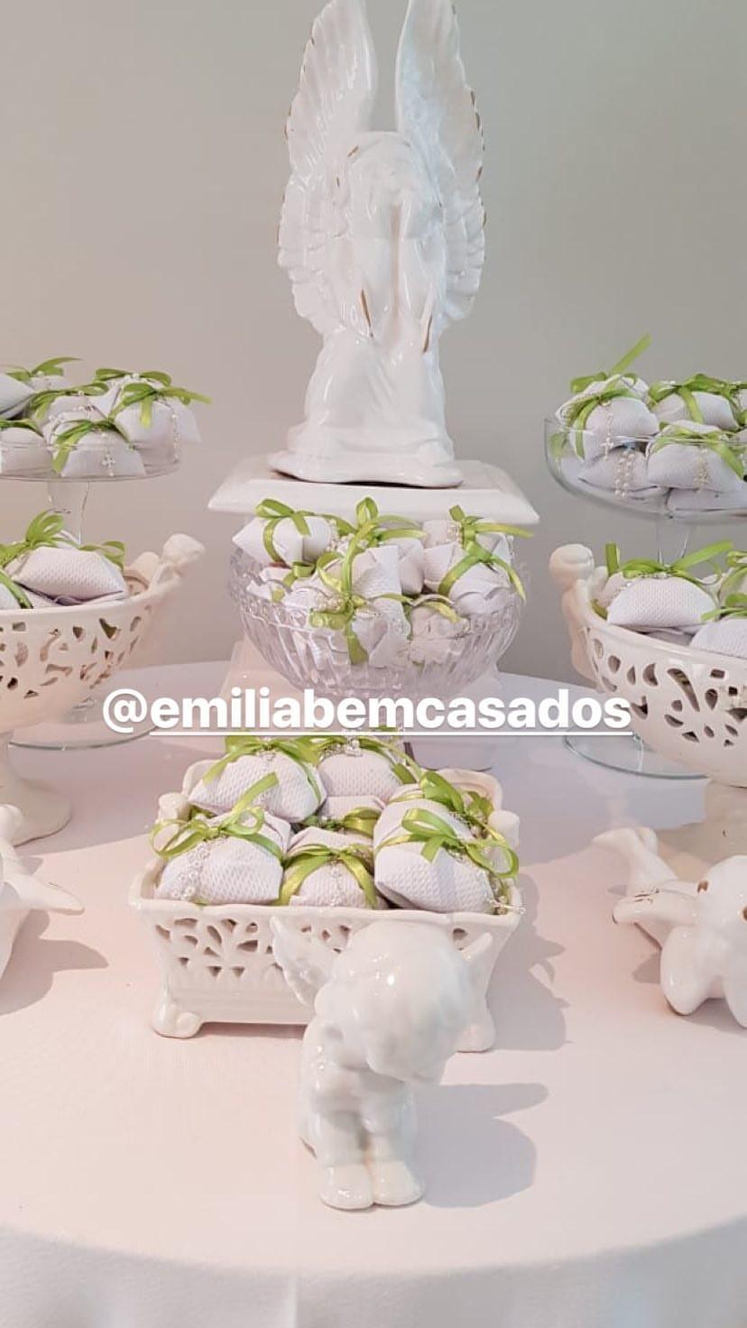 Decoração do almoço de batismo da Manu (Foto: Reprodução/Instagram)
