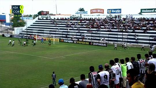 """Ciel fez a metade dos gols do ASA e espera evolução do time: """"Precisamos vencer"""""""