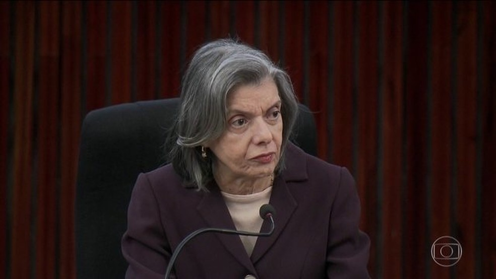 Ministra Cármen Lúcia (Foto: Reprodução / JN)
