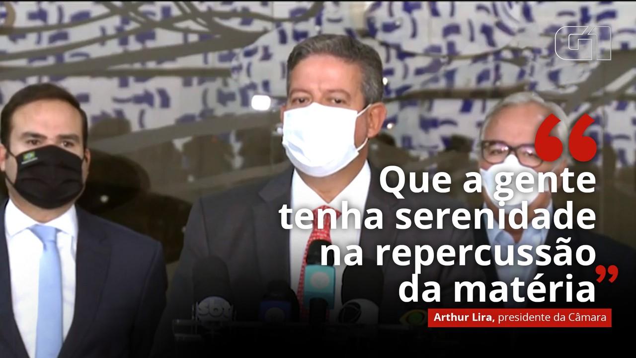 VÍDEO: 'Que a gente tenha serenidade na repercussão da matéria', diz Lira sobre PEC da Imunidade