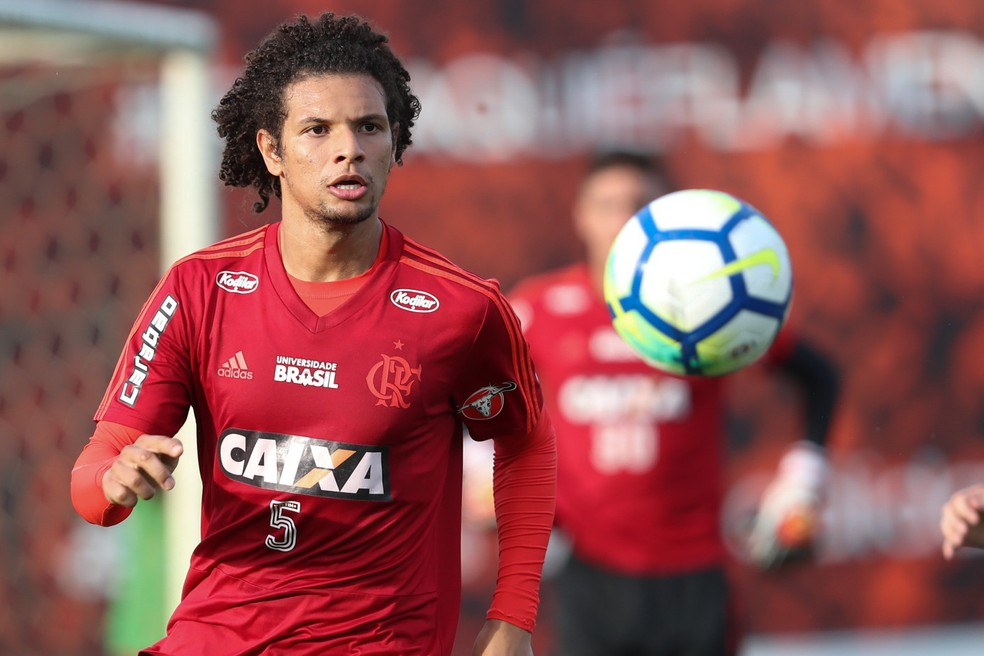 William Arão está no Flamengo — Foto: Gilvan de Souza