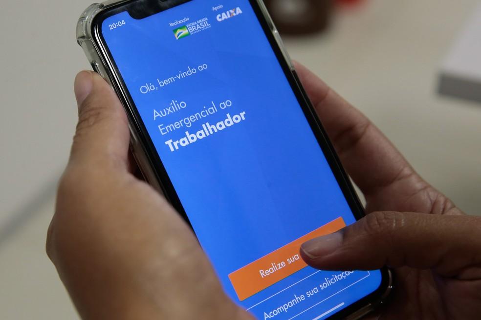 Auxílio emergencial foi criado durante crise provocada pela pandemia do novo coronavírus — Foto: Marcello Casal Jr/Agência Brasil