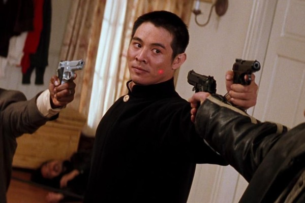 O ator Jet Li em cena do quarto filme da franquia Máquina Mortífera (Foto: Reprodução)