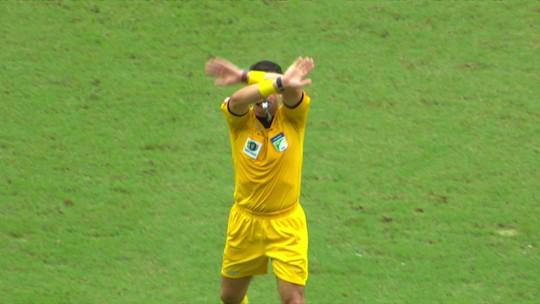 Sistema do VAR foi usado cinco vezes em jogos do CSA no Brasileiro; veja as decisões
