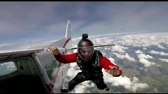 Paraquedista cai em rodovia e morre atropelado em Boituva