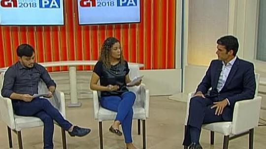 Veja a entrevista do candidato ao governo do Pará Helder Barbalho ao G1
