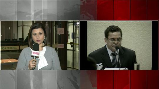 Ronan Maria Pinto presta depoimento sobre esquema de corrupção na Petrobras