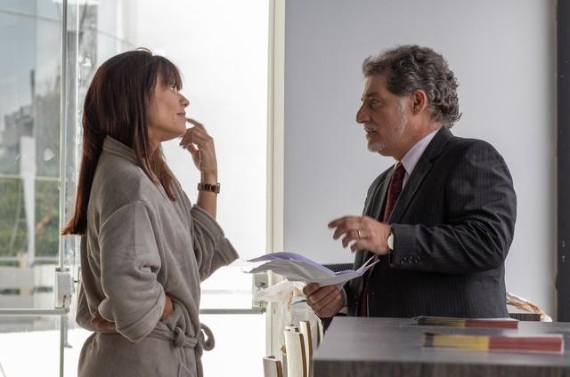 Amandha Lee e Giuseppe Oristanio na série 'Cinema Café' (Foto: Divulgação)