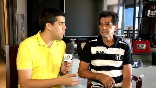 """Cartas para Garrincha e missão de marcar Pelé: """"Soldado"""" do Ceará lembra passado no Botafogo"""