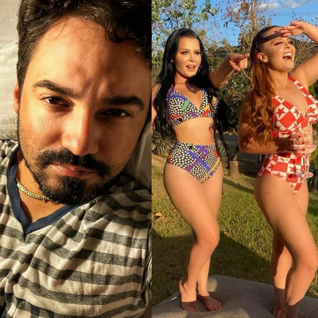 Fernando comenta em vídeo de Maiara e Maraisa (Foto: Reprodução/Instagram)