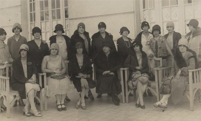 Integrantes da Federação Brasileira pelo Progresso Feminino, fundada em 1922