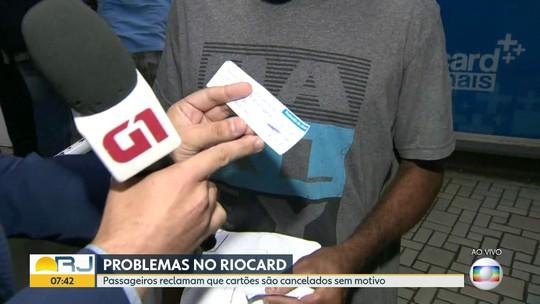 Passageiros da SuperVia reclamam de bloqueio de RioCards na catraca