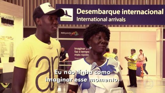 'Caldeirão' promove reencontro de haitiano refugiado com a sua mãe; confira