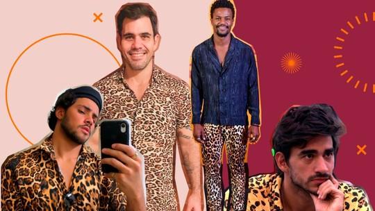 Moda masculina: animal print ganha força entre os famosos