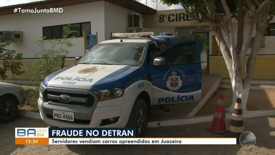 Coordenador e ex-servidor de órgão de trânsito na BA são presos por vender carros apreendidos; 19 veículos sumiram de pátio