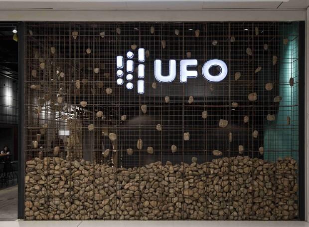 Entrada da UFO Space (Foto: Marcelo Donadussi/Divulgação)
