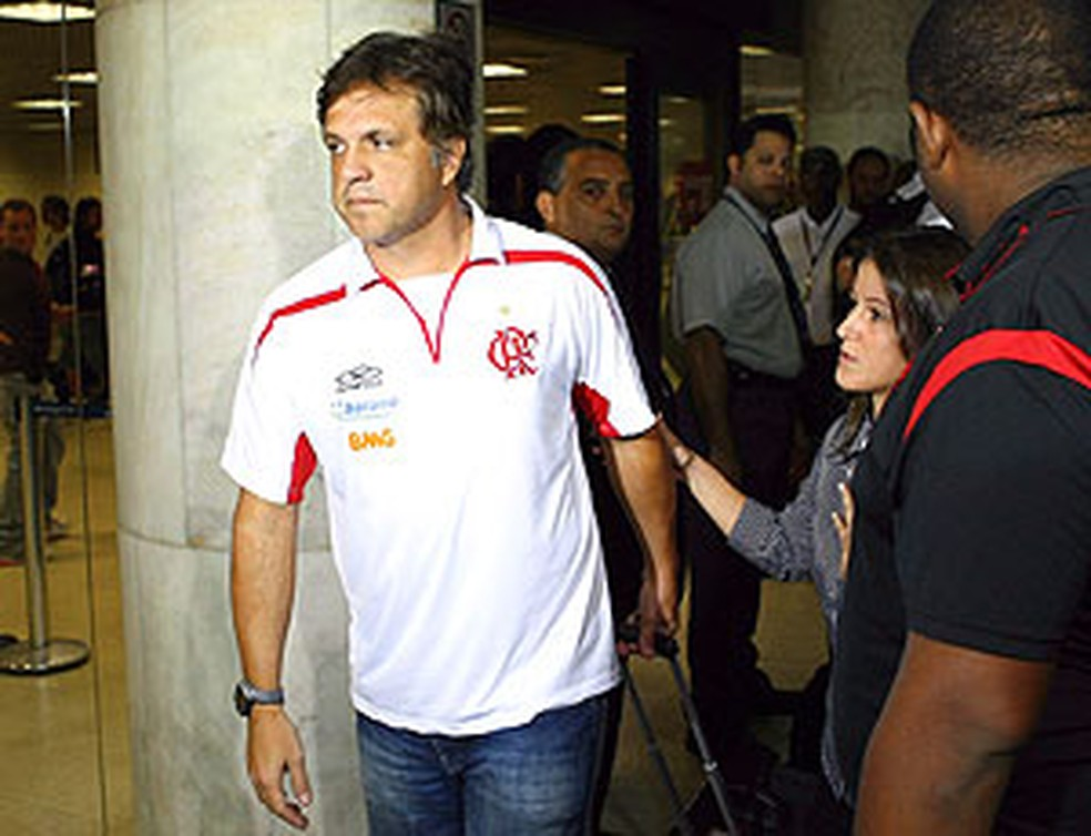 Rogério Lourenço deixou o Flamengo após 20 jogos no profissional — Foto: Cezar Loureiro / O Globo