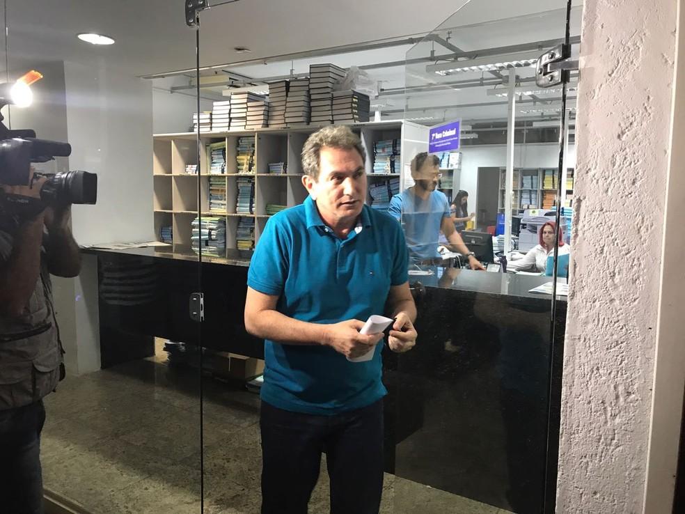 Pedro Nadaf teve dois terços da pena reduzida como benefício da delação premiada firmada com o Ministério Público (Foto: Lislaine dos Anjos/ G1)