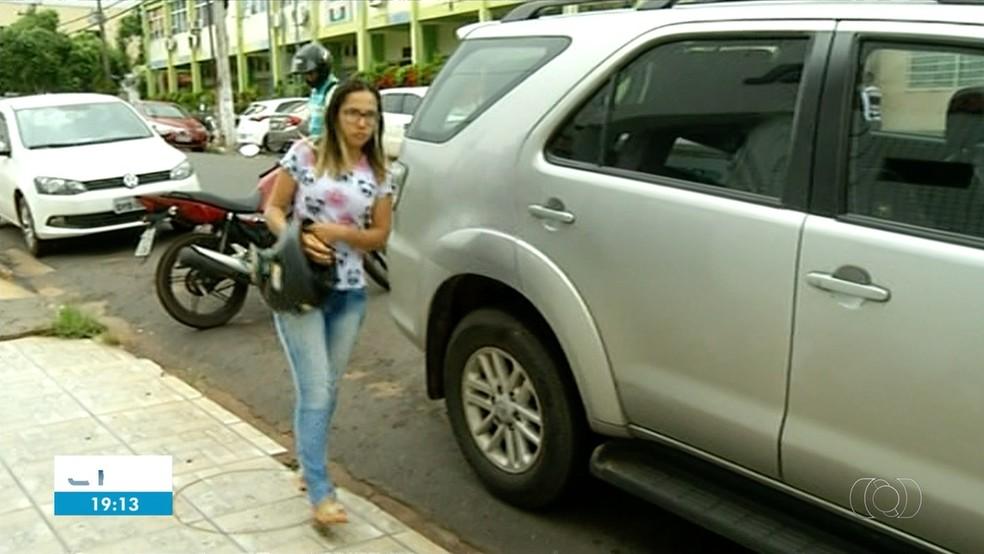 Waldireny é invetigada no escândalo do lixo hospitalar, em Araguaína — Foto: Reprodução/TV Anhanguera