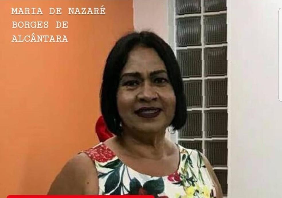 Idosa desaparecida  (Foto: Paulo Sá/Arquivo da família)
