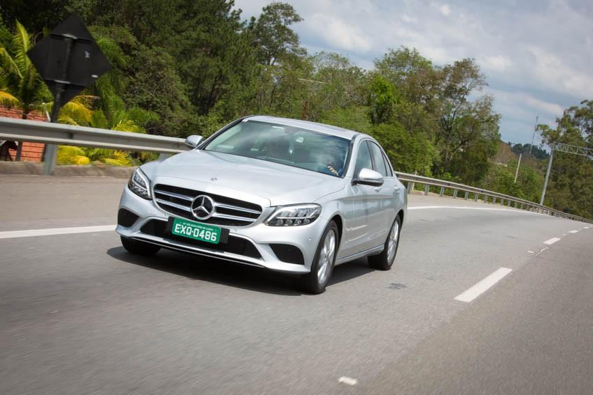 Mercedes Classe C 2019 (Foto: Divulgação)