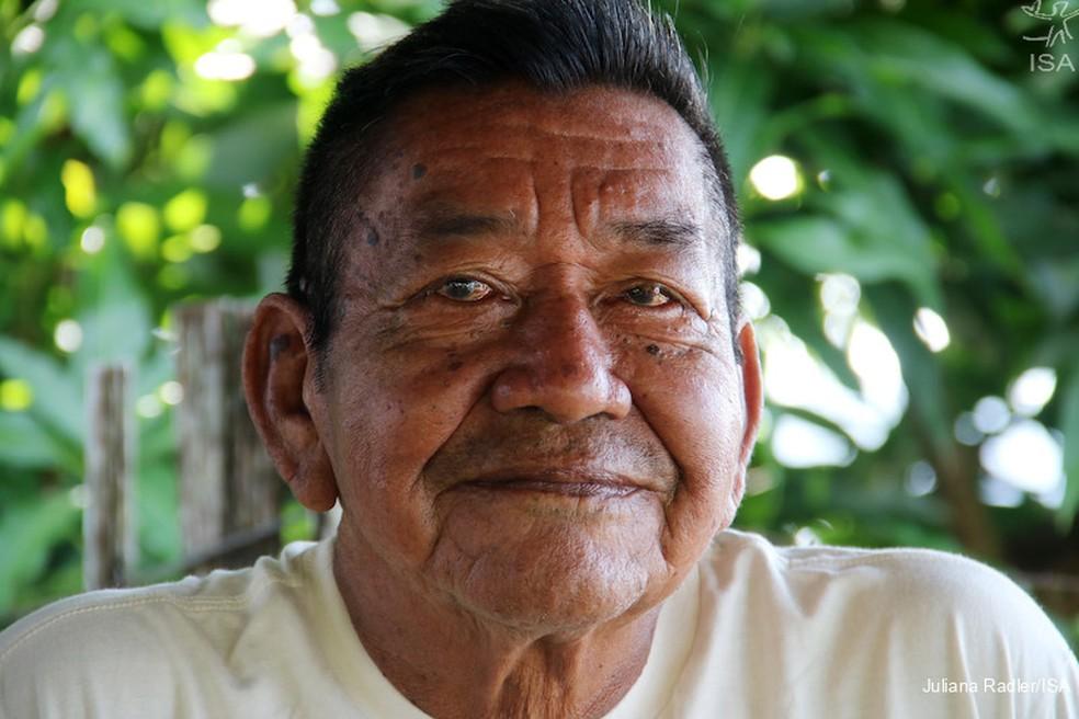 Feliciano Lana, ilustrador da cultura indígena, morre de Covid-19 — Foto: Cortesia/Instituto Socioambiental