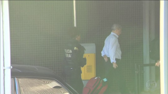Polícia começa a ouvir presos na 34ª fase da Operação Lava Jato