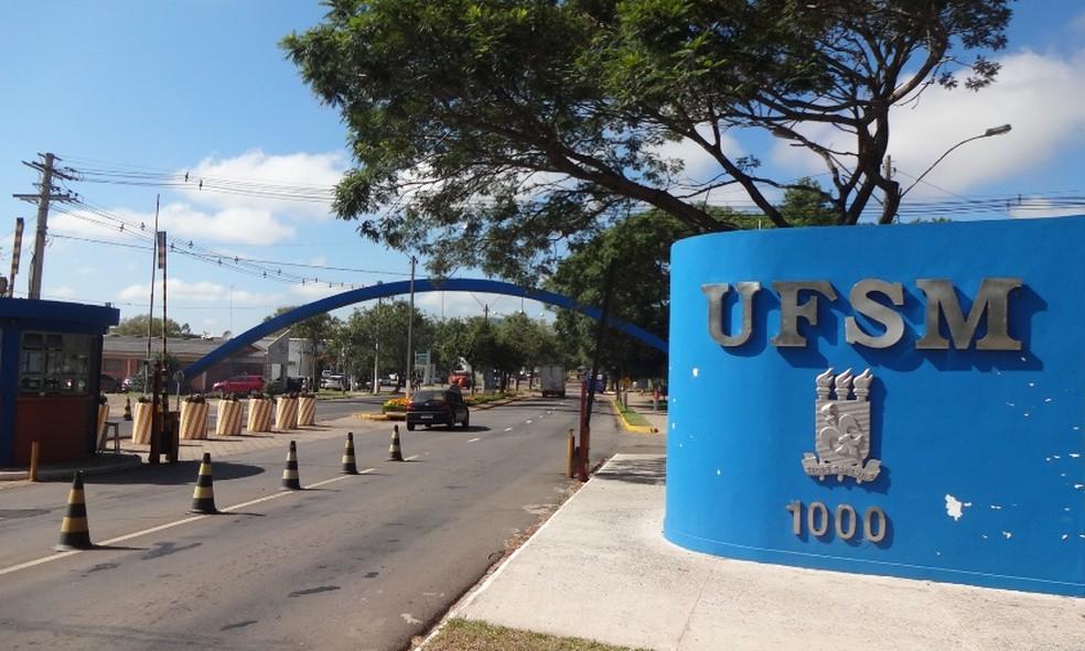 Universidade Federal de Santa Maria (UFSM)  (Foto: Felipe Truda/G1)