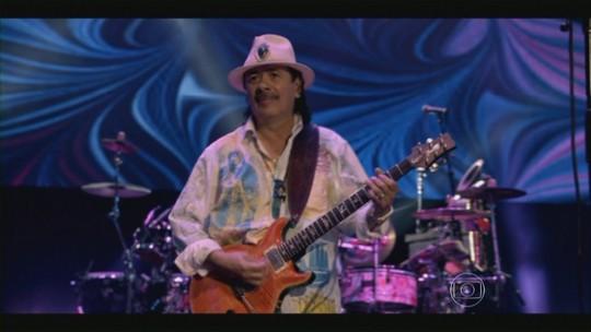 Carlos Santana levou a música latina em sua guitarra para o mundo