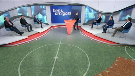 Quem avança? Comentaristas do Bem, Amigos debatem confrontos brasileiros na Libertadores