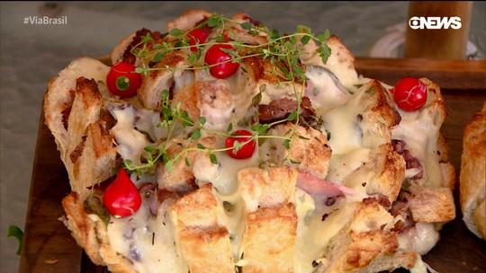 Aprenda a fazer um delicioso pão italiano recheado