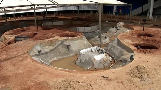 Aquário do Pantanal já custou mais de R$ 200 milhões aos cofres públicos, mas obra não acaba