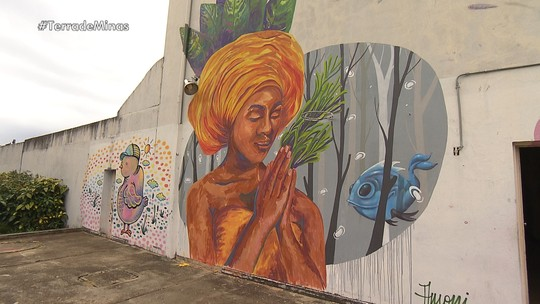 Artistas transformam muros de hospital em telas