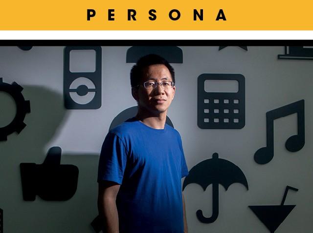 Fundador da Bytedance, startup mais valiosa do mundo, Zhang Yiming conseguiu um feito raro: sucesso na China e no resto do mundo (Foto: Giulia Marchi/Bloomberg via Getty Images)