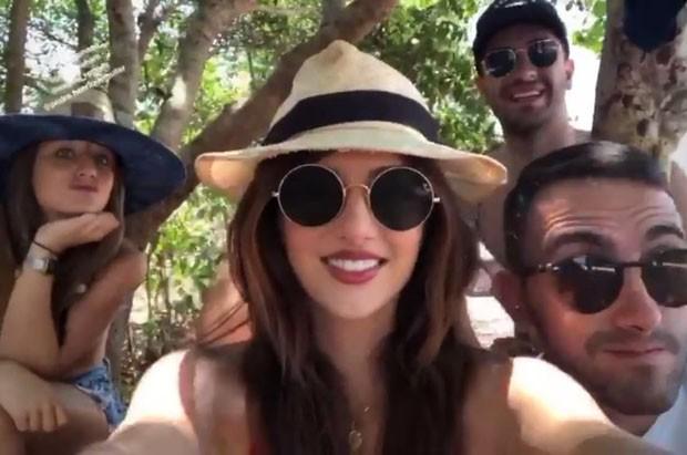 Bruna Griphao, Anaju Dorigon, Miguel Rômulo e Pedro Henrique Muller (Foto: Reprodução/Instagram)
