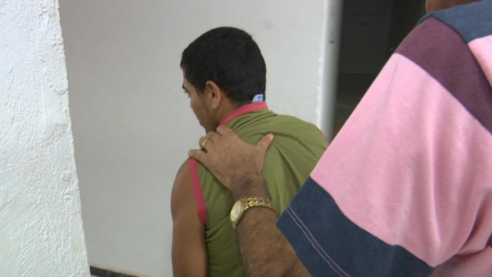 Pedro Júnior Costa da Silva, de 37 anos, confessou o crime (Foto: Lucas Torres/Portal Sorriso)