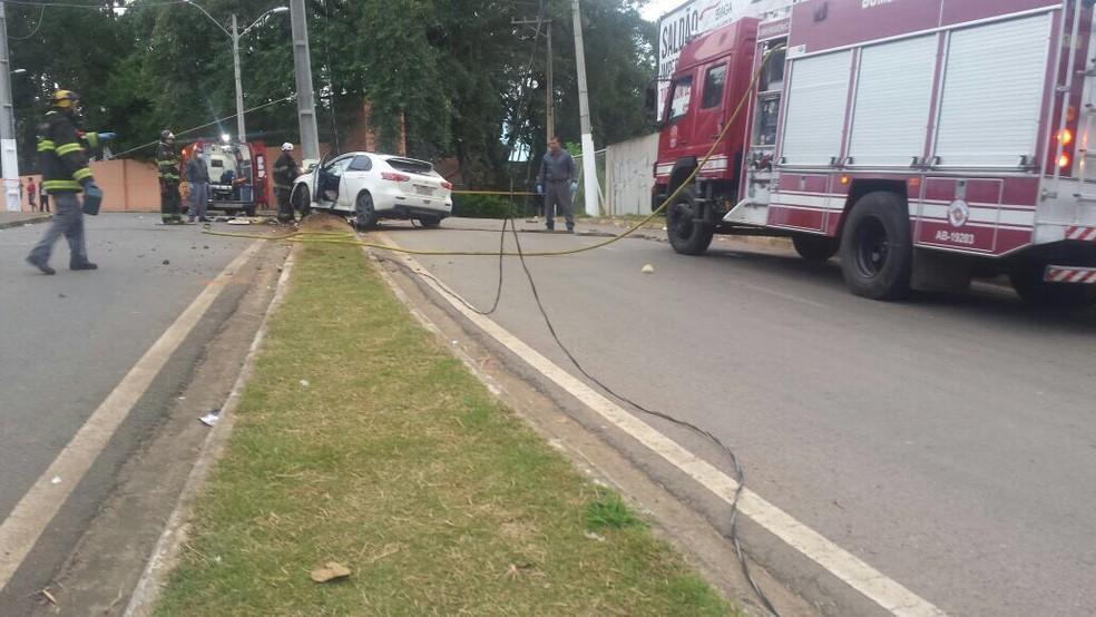 Gari morre atropelado em Bragança Paulista  — Foto: Divulgação/Polícia Militar
