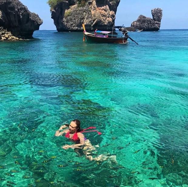 Mariana Ximenes na Tailândia (Foto: Reprodução / Instagram)