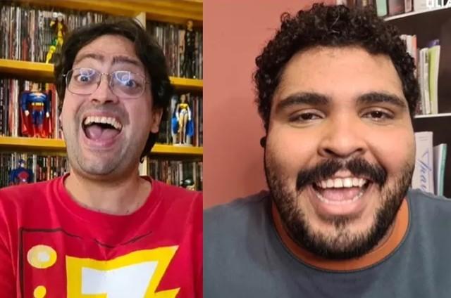 Fernando Caruso e Paulo Vieira, de 'Cada um no seu quadrado' (Foto: Victor Pollak)
