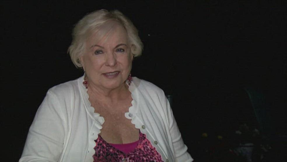Julia Yonkowski, moradora da Flórida, se descobriu 'bilionária' no fim de semana — Foto: Reprodução/NBC