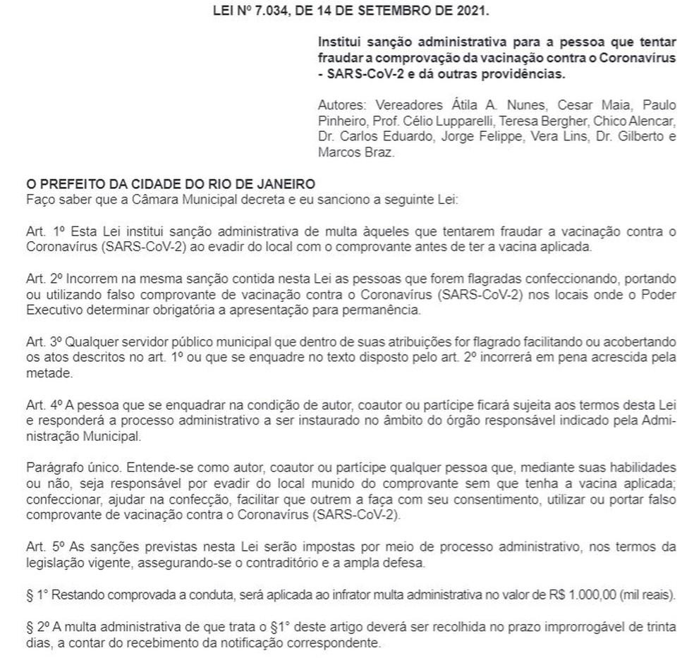 Resolução foi publicada no Diário Oficial desta quarta-feira (15). — Foto: Reprodução