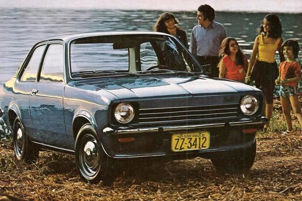 Chevrolet Chevette foi lançado há exatos 45 anos atrás (Foto: Divulgação)