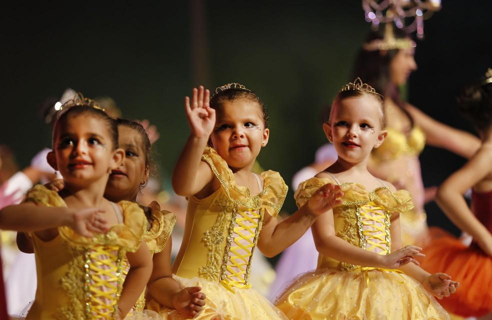 Ballet Denise França conta com mais de 100 alunos, além de 12 alunos em cadeiras de roda (Foto: Assessoria)