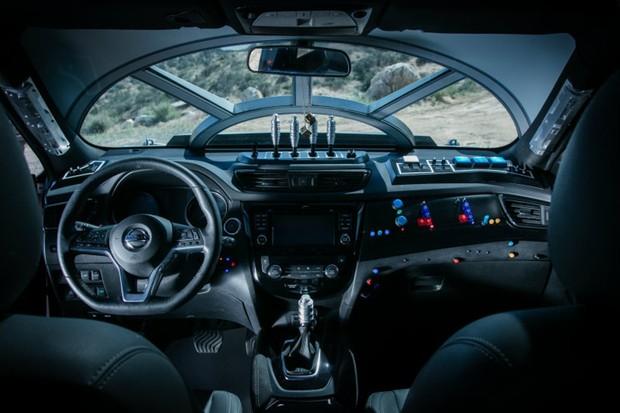 Nissan exibe edição especial de modelo Rogue inspirado em Millenium Falcon (Foto: Divulgação)