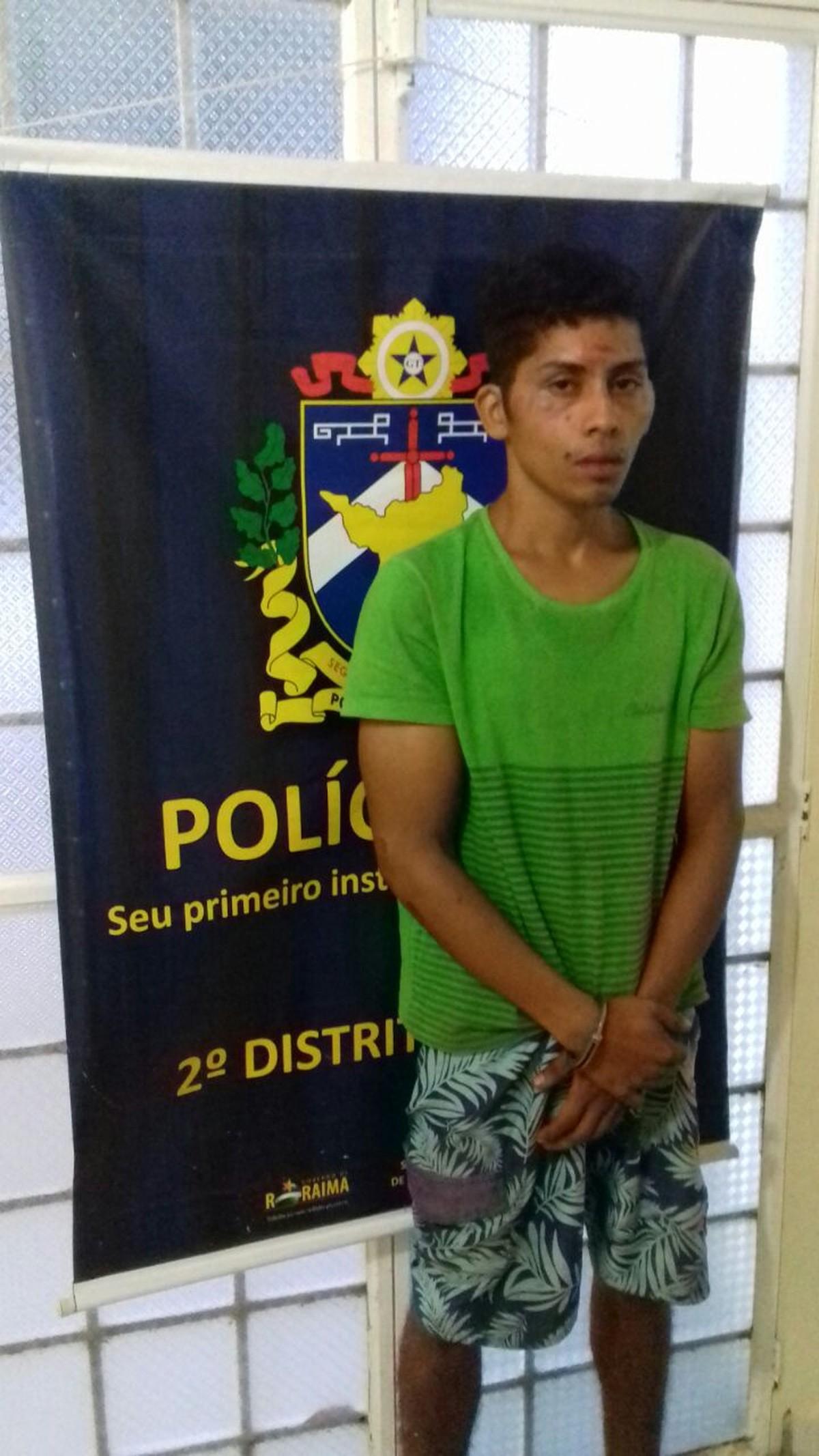 Envolvido em cinco assaltos tenta roubar moto, é detido por moradores e espancado em Boa Vista