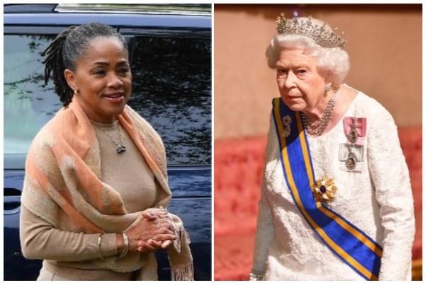 Doria Ragland, mãe de Meghan Markle, e Rainha Elizabeth II (Foto: Getty Images)