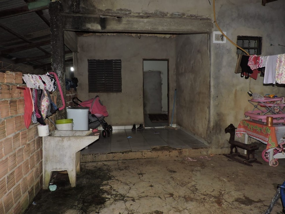 Casal foi assassinado na frente dos 4 filhos em Sorriso — Foto: Polícia Civil de Mato Grosso/Divulgação